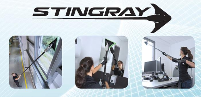 Stingray UNGER urzadzenie do wewnętrznego czyszczenia okien
